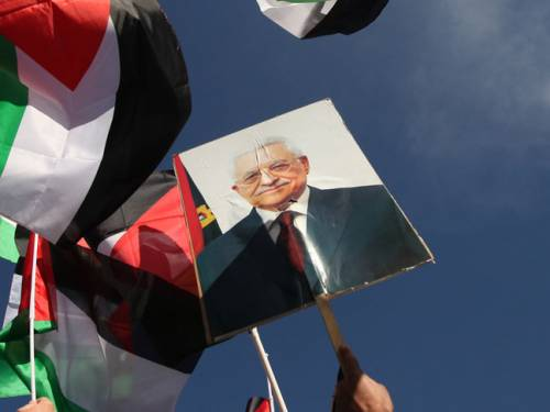 Abbas pledged that after the victory at the United Nations, his 'first and most important' task would be working to achieve Palestinian unity and reviving efforts to reconcile rival factions Fatah and Hamas. (Getty)
