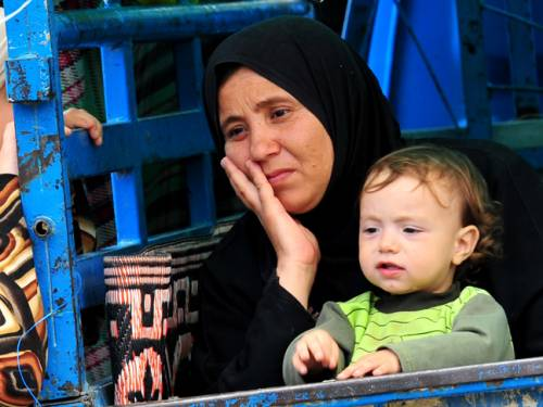 Syrian refugees in Turkey. (AFP/Getty Images)