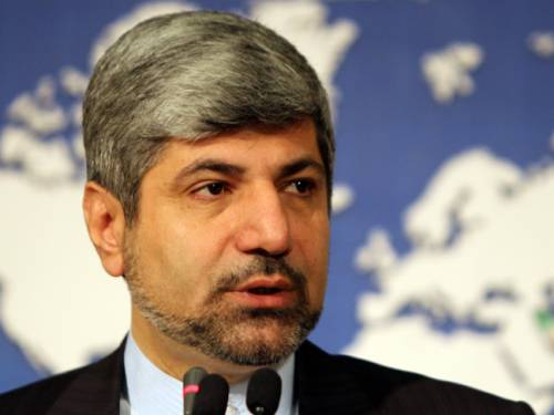 Iran foreign ministry spokesman Ramin Mehmanparast has hit out at Canada's decision to break off diplomatic ties. (Getty)