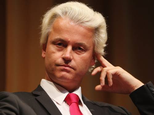Right-wing Dutch MP Geert Wilders has told SBS he is 'happy' to be in Australia despite getting a frosty local reception. (Getty Images)