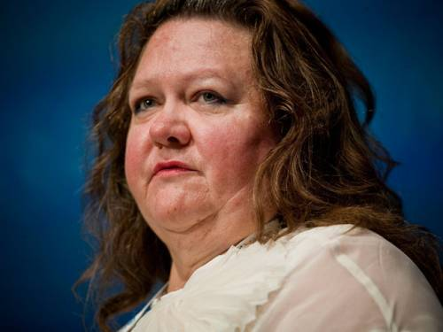 Rinehart's $29 billion mining fortune is $3 billion greater than that of Christy Walton, the widow whose inherited wealth springs from the US retail giant Wal-Mart. (AAP)