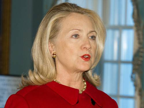 US Secretary of State Hillary Clinton. (Getty)