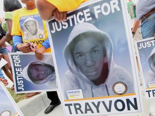 Teenager Trayvon Martin was killed by a neighbourhood watchman, who claims he was acting in self-defence. (Getty)