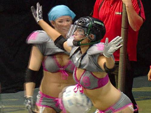 The LFL landed in Australia last week and plans to launch a competition here in 2013. (SBS)