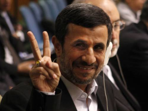 Comments by Iranian President Ahmadinejad prompted outrage in New York. (AAP)