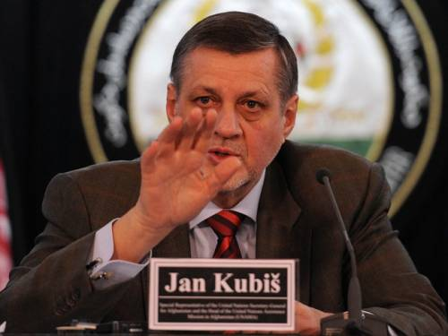 UN special representative Jan Kubis says summit participants must make strong clear predictable commitments for the years to come. (Getty)