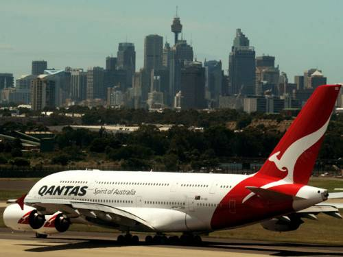 The incident is said to have occurred last Monday as the Qantas 767-300 aircraft was about to leave for Brisbane. (File: AAP)