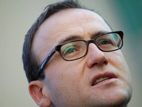 Federal Greens deputy leader Adam Bandt. (AAP)