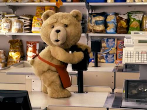 Ted is a comedy starring a computer-animated crude and inappropriate teddy bear.