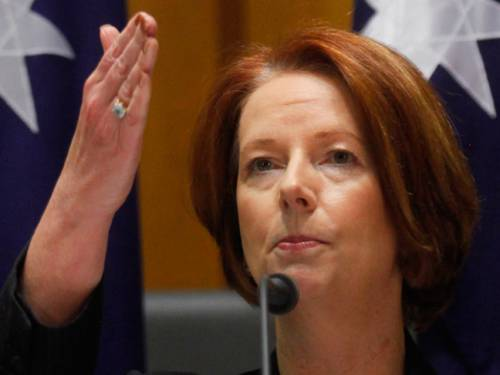 PM Julia Gillard could miss some bilateral meetings at the NATO summit after her plane suffered mechanical problems before leaving Australia. (AAP)