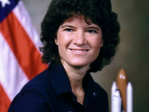 Sally Ride, the first American woman in space, 'inspired generations of young girls to reach for the stars.' (AP)