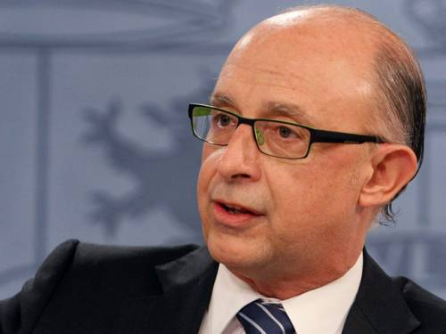 Spain's Treasury Minister Cristobal Montoro. (AAP)