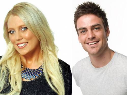 Sydney 2Day FM presenters Mel Greig and Michael Christian have been taken off air. (AAP)