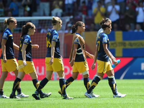 The Matildas are looking to bounce back from the disappointment of missing out on qualification for the Olympics. (Getty Images)