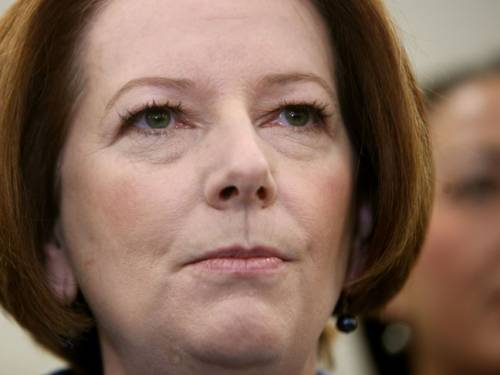 Australian Prime Minister Julia Gillard. (AAP)