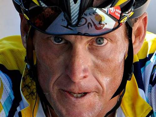 Lance Armstrong. (Getty)