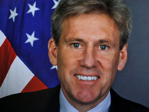 Mitt Romney's campaign has accused the Obama administration of misleading Americans over the attack that killed the US ambassador to Libya, Christopher Stevens. (Getty Images)