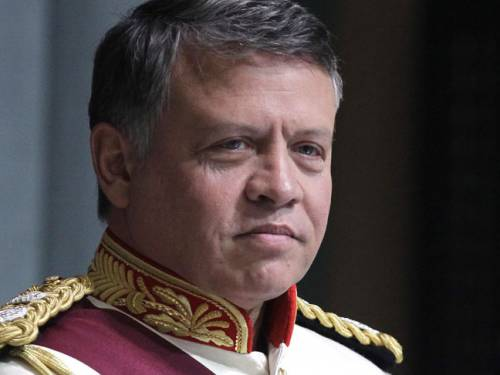 King Abdullah II. (Getty)