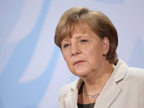German leader Angela Merkel is at odds with US President Barack Obama over growth policies in Europe. (AAP)