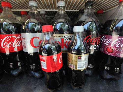 Sugary drinks are one culprit leading to children consuming too much sugar. (Getty)