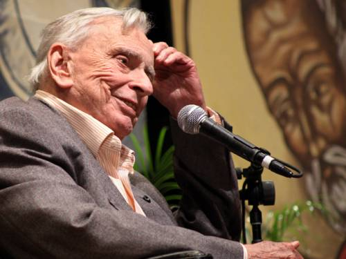 American author and essayist Gore Vidal. (AP)