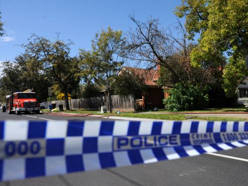 A 37-year-old man has been beaten and shocked with a taser during a Melbourne robbery. (AAP)