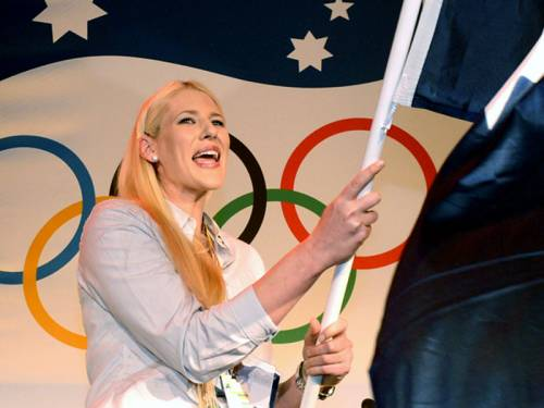 Lauren Jackson will carry the Australian flag at the opening ceremony of the London Olympics. (AAP)