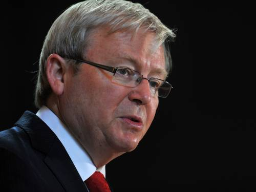 Former PM Kevin Rudd says the UN must start planning for a peacekeeping mission in war torn Syria. (AAP)