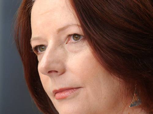 Ms Gillard rejected a suggestion by a talkback caller that the carbon tax may not prove effective. (AAP)