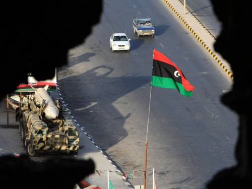 Fears of militia violence have threatened to mar Libya's first nationwide parliamentary election. (AAP)