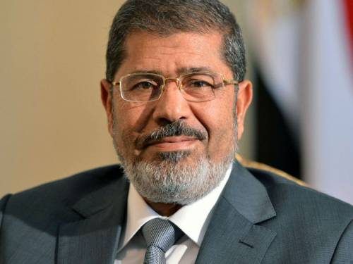 The pardon comes 100 days after Morsi, who emerged from the Muslim Brotherhood, became the first freely elected president of Egypt and its first civilian head of state when he took office in June. (AAP)