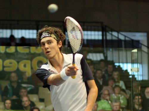 Australian squash ace Cameron Pilley has won his opening match at the US Open in Philadelphia. (AAP)