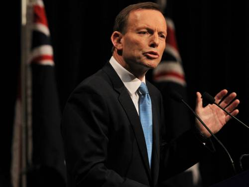 Opposition Leader Tony Abbott has declared Australia's relationship with the US as like 'family'. (AAP)
