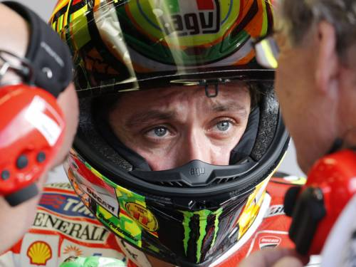 Nine-time world champion Valentino Rossi has slammed the MotoGP as