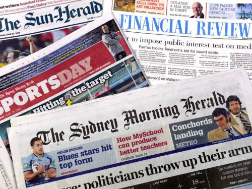 Any new media watchdog could become a 'political correctness enforcement agency destined to suppress inconvenient truths', Mr Abbott says. (AAP)