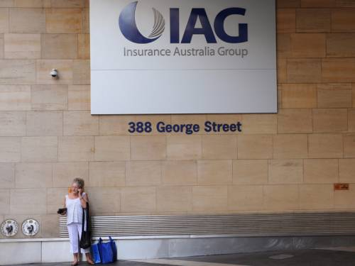 Insurance Australia Group (IAG) says it is on track to achieve its full-year financial forecasts. (AAP)