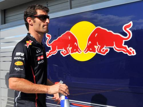 Mark Webber (pic) and Sebastian Vettel topped the timesheets in practice for the Korean GP. (AAP)