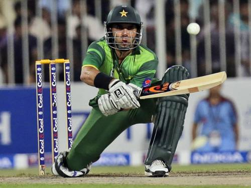 Pakistan captain Misbah-ul Haq says his batsmen are to blame for their ODI loss to Australia. (AAP)