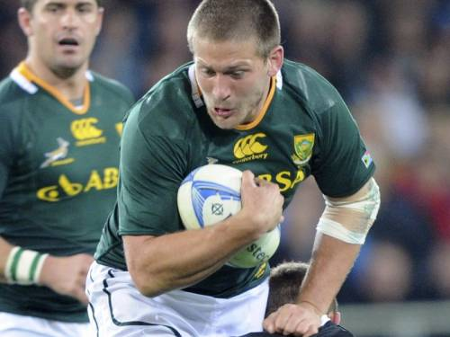 South Africa are hopeful centre Francois Steyn will recover from injury in time to face Australia. (AAP)