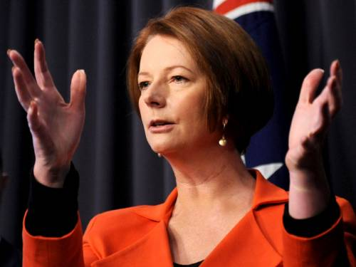 PM Julia Gillard says she's open to further talks with the states on a disability insurance scheme. (AAP)