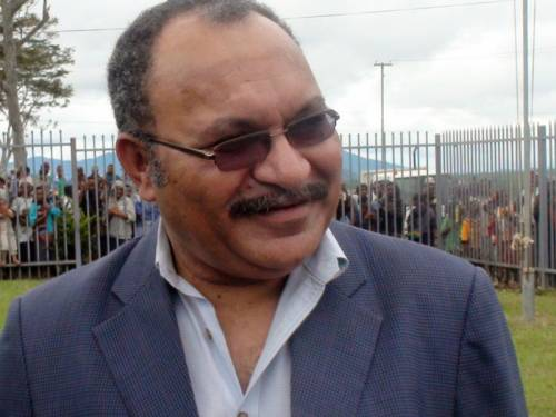 PNG's incumbent PM Peter O'Neill is confident he will form the country's next government. (AAP)