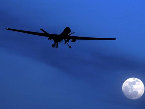 In a separate incident, a suspected US drone strike killed five al-Qaeda members late on Saturday, a local official said.