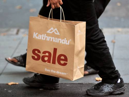 Retailer Kathmandu's full year profit has fallen 11 per cent to $A27.87 million. (AAP)