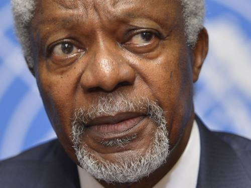 The UN and Arab League named Kofi Annan as its envoy on the Syria conflict on February 23 and he brokered a six-point peace plan that was supposed to begin with a ceasefire from April 12. (AAP)