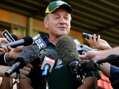 Kangaroos coach Tim Sheens says he's prepared to stand down after the Rugby League World Cup. (AAP)