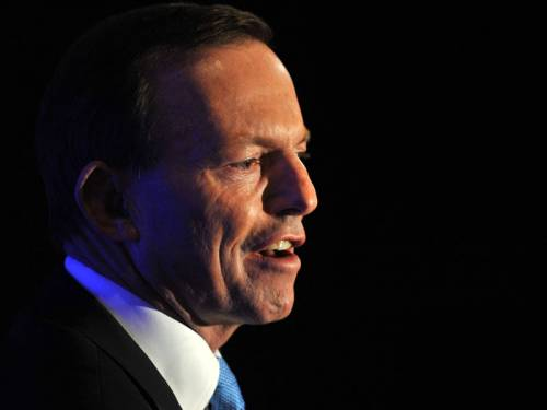 Mr Abbott again defended News Limited columnist Andrew Bolt, who was ruled to have breached the Racial Discrimination Act in articles he wrote on fair-skinned Aborigines. (AAP)