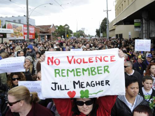 Melbourne residents will march to protest violence and harassment towards women on Saturday night. (AAP)