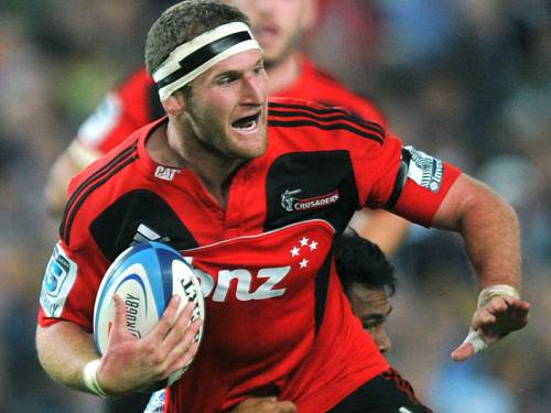 Crusaders' Kieran Read will miss Saturday's semi-final against the Chiefs with a cracked rib. (AAP)
