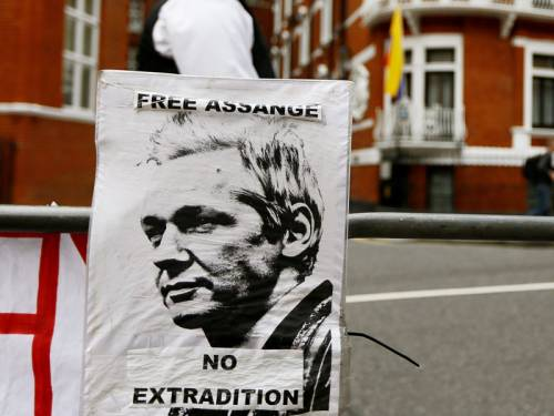 Ecuador has offered to let WikiLeaks founder Julian Assange stay  indefinitely in its embassy in London. (AAP)