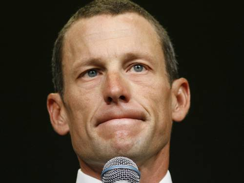 Armstrong said Wednesday he was stepping aside rather than see Livestrong impacted by the fallout from revelations that a doping scheme was at the heart of his seven Tour de France triumphs. (AAP)